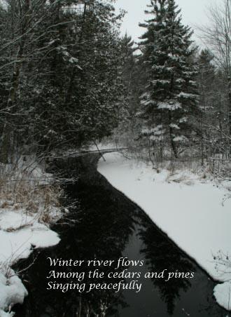 Winter RiverHaiku