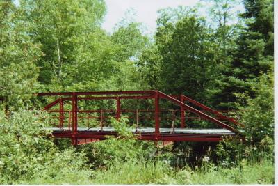 Red Bridge in Summer