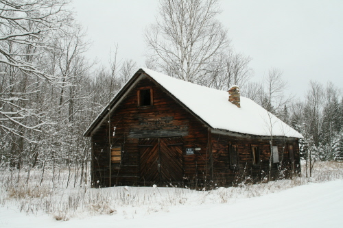 blacksmith shop-winter